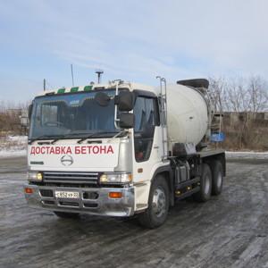 доставка бетона в Воскресенск