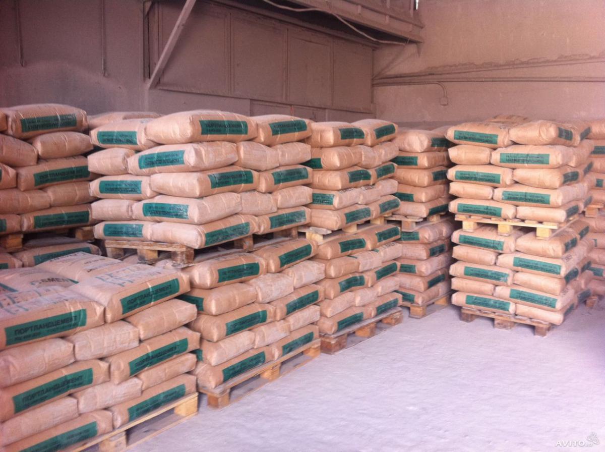 цемент в мешках с доставкой в Воскресенск