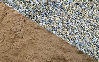 песок и щебень в Воскресенске